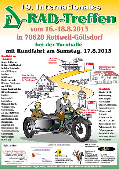 Internationales Radtreffen 2013